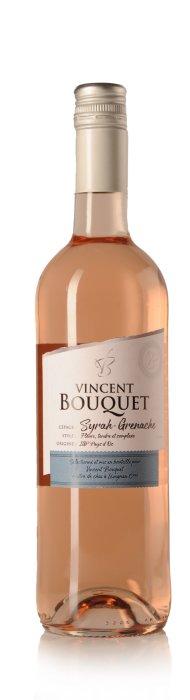 Vincent Bouquet  Rosé Syrah-Grenache, Pays d'Oc IGP-1672