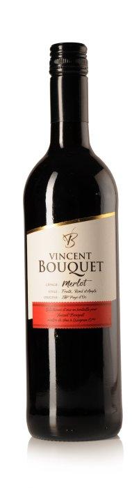 Vincent Bouquet Merlot,  Pays d'Oc IGP-1673